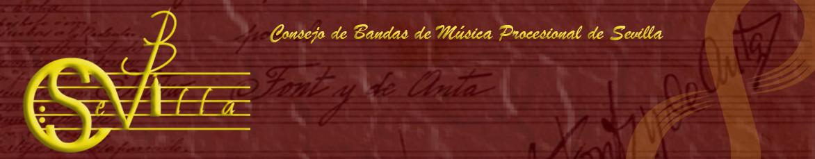 Web oficial del Consejo de Bandas de Música Procesional de Sevilla